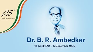 INC pay tribute to Dr. B.R. Ambedkar on his 125th birth anniversary.