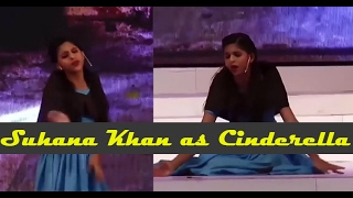 Suhana Khan as Cinderella | ShahRukh Khan's Daughter Suhana's Brilliant Acting Skills || Bollywood