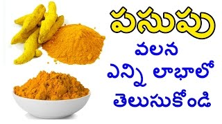 Unknown Facts and Uses of Tumeric Powder - పసుపు వలన ఎన్ని లాభాలో - Telugu Nautral Heath Facts