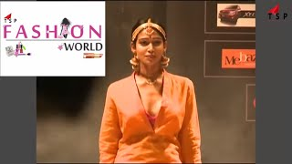 Vizag Fashion show - super models cat walk - Indian ethnick wear trending fashion
