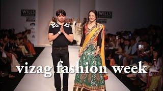 Vizag Fashion week - Indian ethnic wear - Beauties on cat walk
