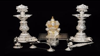 Silver Collection | Idols and Pooja articles 2 | Aakruthi Gold and Diamonds | Bangalore