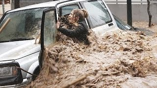 British Floods & Storms UK Weather England & Scotland