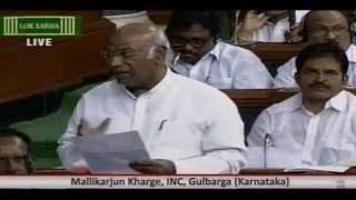 Mallikarjun Kharge speaks in the Lok Sabha on Arunachal Pradesh issue