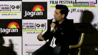 Karan Johar at 7th Jagran Film Festival 2016 | UNCUT