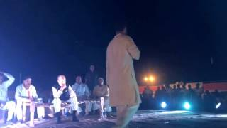 Rahul Gandhi interacting with Farmers at a 'Khat Sabha' in Azamgarh (UP)