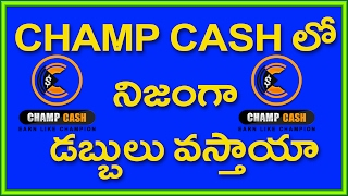 Champ Cash Real Or Fake Explained In Telugu