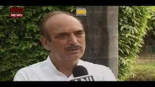 We are with the forces, the protectors of our nation who keep it united: Ghulam Nabi Azad