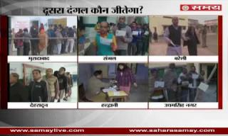 Continuously peaceful polling in Uttarakhand and Uttar Pradesh