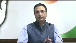 AICC Media byte addressed by Randeep Surjewala at Congress HQ, 7 October 2016