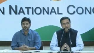 AICC Press Conference addressed by Shri Randeep Surjewala, November 14, 2016