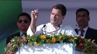 Congress VP addresses Public Rally, Mehsana, Gujarat