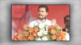 NoteBandi को यज्ञ कहते हैं मोदी जी।अपने इस यज्ञ में हिंदुस्तान के किसान की बलि चढ़ा दी : राहुल गांधी