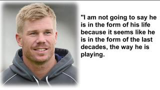 Kohli is in the form of the decade: David Warner
