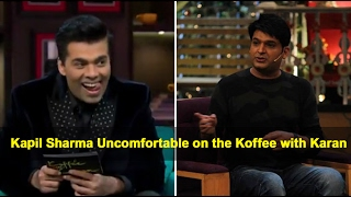 Karan Johar makes Kapil Sharma Uncomfortable on the Koffee with Karan Show || Bollywood Bhijan