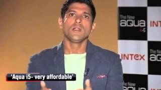Farhan talks about Intex Mobiles