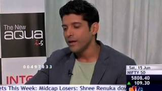 CNBC Switch in conversation with Farhan Akhtar and his association with Intex Aqua i-5.