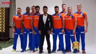 Gujarat Lions - Behind The Scenes - Gujarat Lions Photoshoot