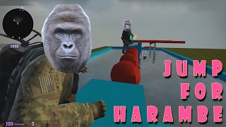 JUMP FOR HARAMBE CS:GO Wipeout Map