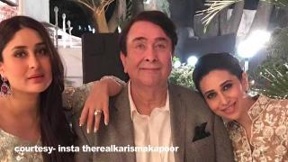 Big B, Rekha, Kareena at Randhir Kapoor's 70th birthday Bash