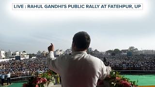 WATCH Congress VP Rahul Gandhi addresses Public Rally in Fatehpur, Uttar Pradesh