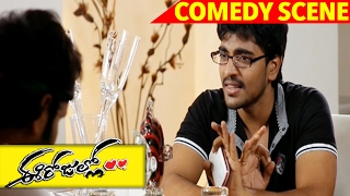Sai And Sri Talks With Mobile About Girls - Full Comedy Scene - Ee Rojullo Movie Scenes