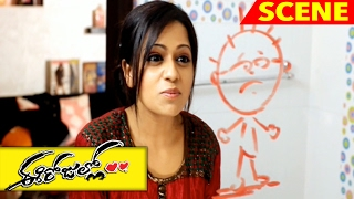 Reshma And Sri Argues With Each Other - Superb Funny Scene - Ee Rojullo Movie Scenes