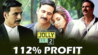 Akshay's Jolly LLB 2 Makes 112% PROFIT - Box Office Collection