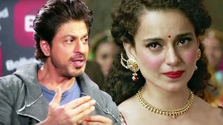 Shahrukh Khan REJECTS A Film With Kangana Ranaut