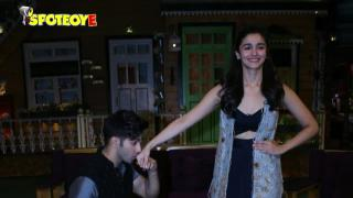 Varun Dhawan & Alia Bhatt Promote Badrinath Ki Dulhania On The Kapil Sharma Show | SpotboyE
