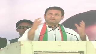Congress VP Rahul Gandhi addresses Public Rally in Jhansi, Uttar Pradesh