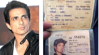 Sonusood felt emotional - Sonu Sood gets nostalgic over first train pass to Mumbai || Bollywood