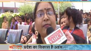 watch india voice special show youngistan ki soch talk with youth of 'Lalitpur'