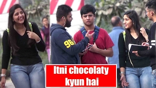 Itni chocolaty kyun hai Comment Trolling Ep. 3 Pranks in India 2017 Unglibaaz