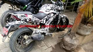 Bajaj Pulsar CS400 or CS200 ? Caught testing | Camouflage model