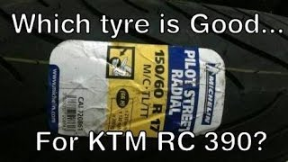 Michelin Pilot Street Radial | Tyre Upgrade KTM RC 390 | 110/70 R17 | 150/60 R 17