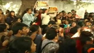 Protests against ABVP, police after Ramjas violence