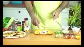 cheez schejwan masala papad | बेस्ट इंडियन  टेस्ट वीडियोस | देसी जायका