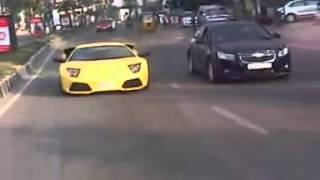 lamborghini in hyderabad