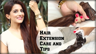 How To: Wash And Take Care Of Clip In Hair Extensions / Tips and Tricks