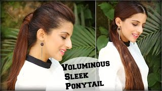 2 EASY High & Low Ponytail With Clip In Extensions For Length & Volume / Hairstyles With Ponytails