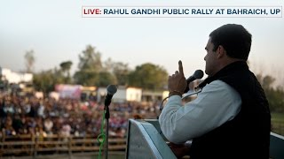 LIVE : Congress VP Rahul Gandhi addresses Public Rally in Bahraich, Uttar Pradesh, Feb 25, 2017