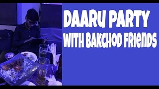 Daaru Party plan with friends in desi style