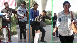 Psycho Man Dancing in Public Scare Pranks in India 2017 | Unglibaaz