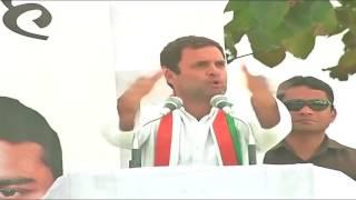 Congress VP Rahul Gandhi addresses Public Rally in  Maharajganj, Uttar Pradesh, March 2, 2017