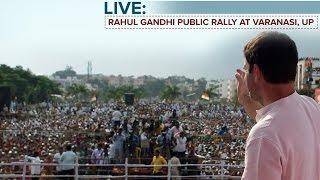 LIVE : Congress VP Rahul Gandhi addresses Public Rally in Pindra, Uttar Pradesh, March 2, 2017