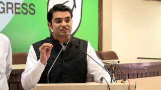 AICC Media Byte By Jaiveer Shergill at Congress HQ. March 3, 2017