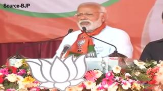Akhilesh government anti-farmer, Modi says in Varanasi