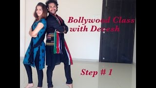 Bollywood Dance Class with Devesh (Step 1)
