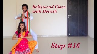 Bollywood Dance Class with Devesh (Step 16)
